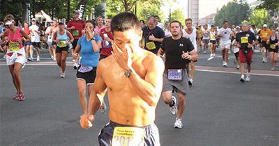 Marthon-runners